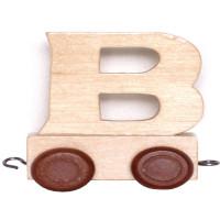 Articulo bebe - Tren de Letras - Letra B - 5x3.5x6 cm