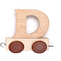 Articulo bebe - Tren de Letras - Letra D - 5x3.5x6 cm