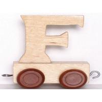 Articulo bebe - Tren de Letras - Letra F - 5x3.5x6 cm