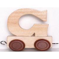 Articulo bebe - Tren de Letras - Letra G - 5x3.5x6 cm