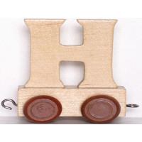 Articulo bebe - Tren de Letras - Letra H - 5x3.5x6 cm