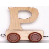 Articulo bebe - Tren de Letras - Letra P - 5x3.5x6 cm