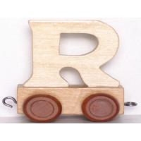 Articulo bebe - Tren de Letras - Letra R - 5x3.5x6 cm