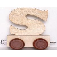 Articulo bebe - Tren de Letras - Letra S - 5x3.5x6 cm