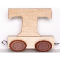Articulo bebe - Tren de Letras - Letra T - 5x3.5x6 cm