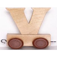Articulo bebe - Tren de Letras - Letra V - 5x3.5x6 cm