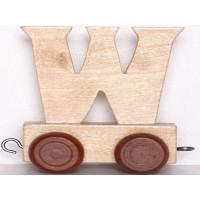 Articulo bebe - Tren de Letras - Letra W - 5x3.5x6 cm
