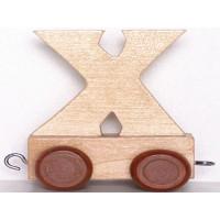Articulo bebe - Tren de Letras - Letra X - 5x3.5x6 cm