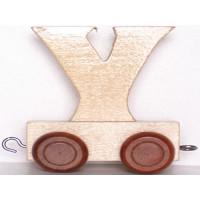 Articulo bebe - Tren de Letras - Letra Y - 5x3.5x6 cm