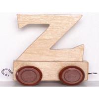 Articulo bebe - Tren de Letras - Letra Z - 5x3.5x6 cm