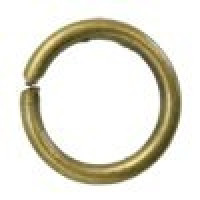 Anilla 6 mm bronce 10 gramos ( 175 uds)