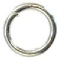 Anilla 8 mm plateada, grueso 1.2 mm ( 10 gr, 50 uds aprox)