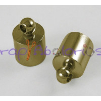Terminal bronce tubular  taladro 5.5 mm 10x6 mm ( 20 uds)