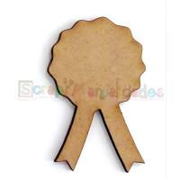 Silueta madera 3 mm grueso- Medalla 42x65 mm