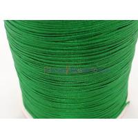 10 metros - Cordon de nylon 1 mm macrame verde