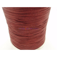 Cordon de nylon 1 mm macrame burdeos ( 1 metro)