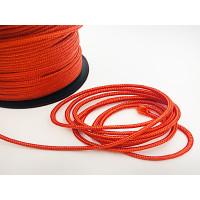 Cordón paracaidista 3 mm color rojo ( 1 metro)