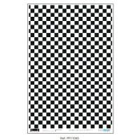 Papel cartonaje 32x48.3 cm- Casita muñecas ajedrez PFY-1043
