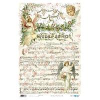 Papel cartonaje 32x48.3 cm- Musica celestial PFY173