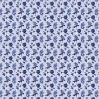 Papel cartonaje 32x48.3 cm-  Flores liberty azul PYF363