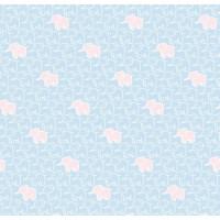 Papel cartonaje 32x48.3 cm- Modelo Elefante azul bebe PFY441