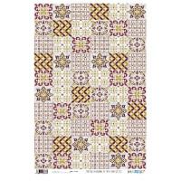 Papel cartonaje 32x48.3 cm- Azulejos  PYF933