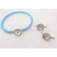 Accesorio Zamak baño plata brazalete para rivoli de 12  mm