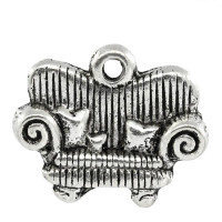 Colgante charm sofa 17x14 mm
