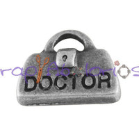 Colgante charm maletin Doctor 14x11 mm