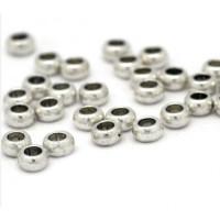 Entrepieza Donut  5x3 mm -Taladro 2,5 mm - 30 uds