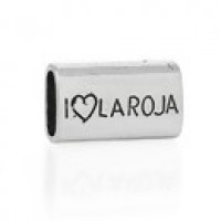 Tubo para regaliz  I Love la Roja 23x14 mm, int 11x7.5 mm