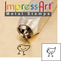Sellos metal ImpressArt- Modelo pollito 6 mm