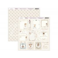 "Papel Scrapbooking doble cara 12x 12"""" - Niña comunion 2"