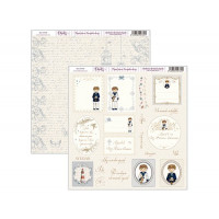 "Papel Scrapbooking doble cara 12x 12"""" - Niño comunion 2"