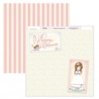"Papel Scrapbooking doble cara 12x 12"""" - Comunion SCP-144"