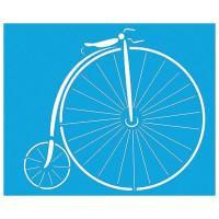 Plantilla stencil Bicicleta antigua 21.1x17.2 cm- STMEX-120