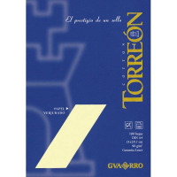 Papel Torreon Beige verjurado 90 g- 21x29.7 cm