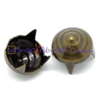 Tachuela pincho bronce cono espiral 8 mm ( 10 uds)