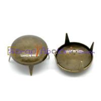 Tachuela pincho bronce redonda lisa 13 mm ( 5 uds)