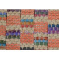 Tireta de lino trenzado naranja 10x2 mm Alta calidad (20 cm)