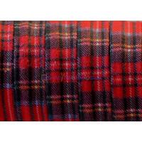 Tireta de tejido tela cosida escocesa Roja - 20 cm