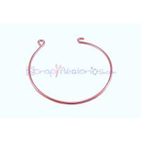 Brazalete pulsera rigida COBRE  57 mm para conectores