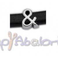 Entrepieza simbolo ZAMAK para cuero regaliz- simbolo  &