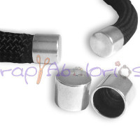 Terminal ciego cilindro Zamak, 12x10 mm, int 10 mm ( 2 uds)