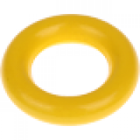 Aro pequeño de madera 35x9 mm, interior 18 mm - Color Amarillo 11