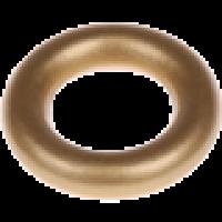 Aro pequeño de madera 35x9 mm, interior 18 mm - Color Dorado 24