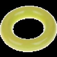 Aro pequeño de madera 35x9 mm, interior 18 mm - Color Verde limon 26