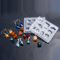 Molde de silicona 75x60 mm -10 piezas diferentes