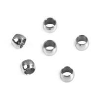 Chafa de acero plateado 1.5 mm ( 100 uds)