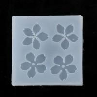 Molde de silicona 48x48 mm - 4 flores